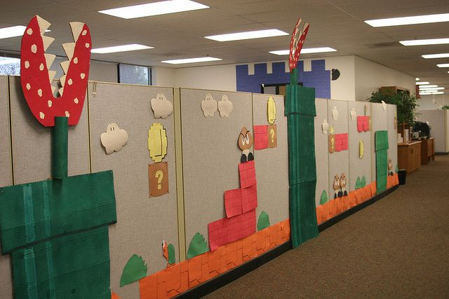 646 best My Halloween images on Pinterest Pirate party, Birthdays - decorate cubicle for halloween
