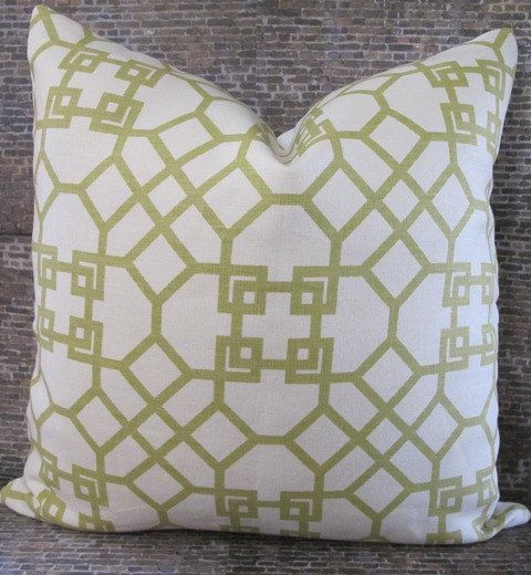Pillow Cover by 3BModLiving via Etsy.