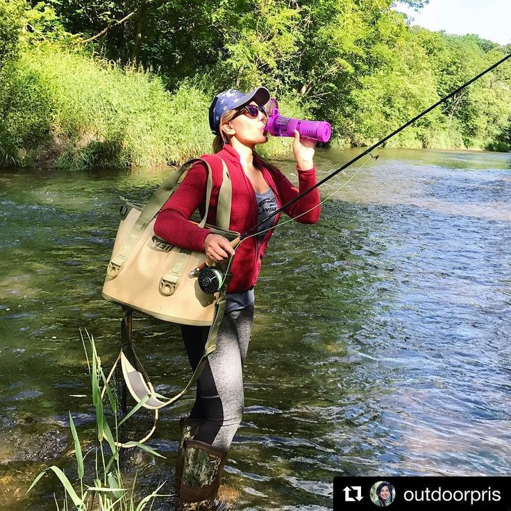 "So much fun to see @outdoorpris with her Journey Water  Filter Bottle  . ""Over the weekend I got a chance to try the new @saganlife Journey water filter bottle & OH my!!! I'm obsessed... It came in handy on multiple occasions - After a long hike down to our fly fishing spot we filled it up 3 times in the Kinni river & I was very impressed at how clean & refreshing the water was - You can literally taste the difference!! What a great US Made filter - It's now my go-to survival accessory I…"