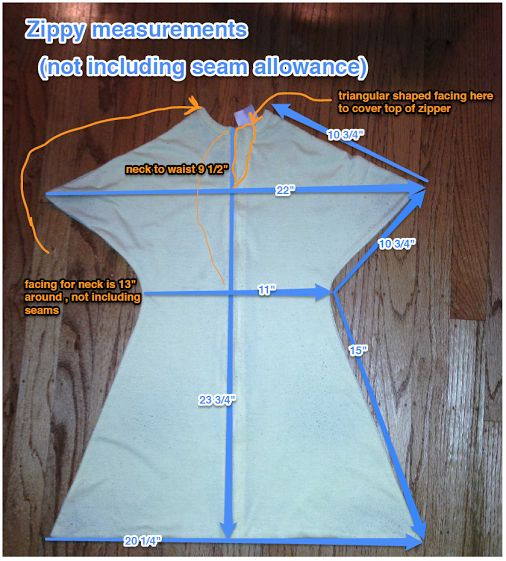 Specific Dimensions For The Zipadee Sleep Sack Want To Make Your Own Or Ensure That Baby Will Fit Here S Guide