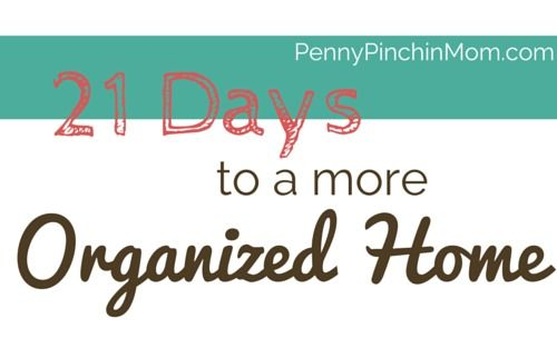 21 days to a more organized home