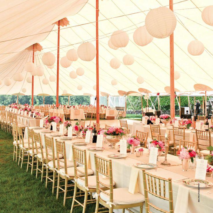 Contemporary Wedding Party Tent Design Decor Bridal
