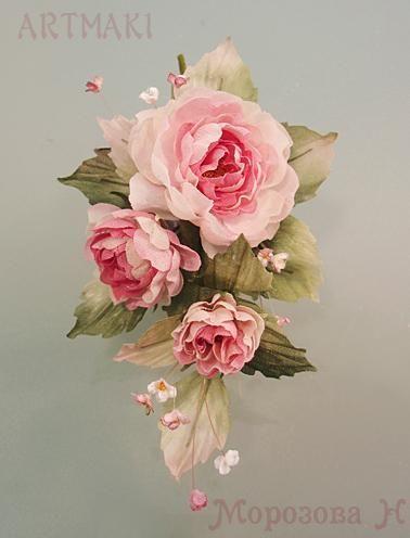 Фото-отчет июльского мини-курса шелковых цветов - Ярмарка Мастеров - ручная работа, handmade