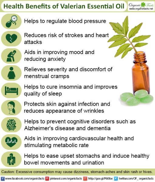 valerian essential oil info. Good site.