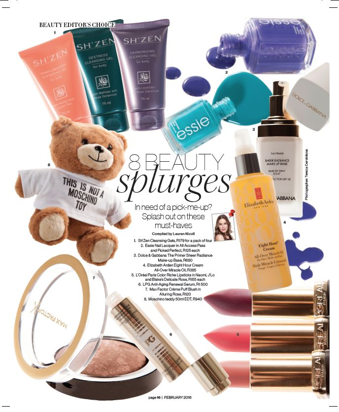 Another fab feature in Destiny Magazine- February 2016!