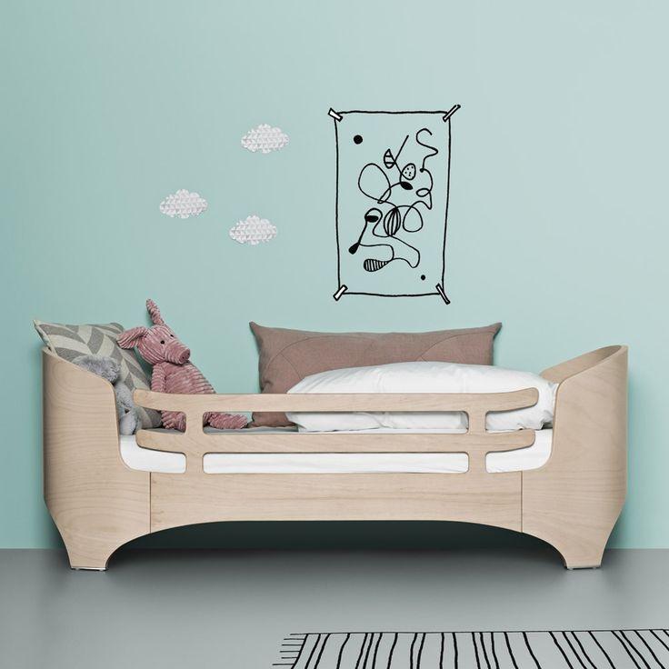 Leander Junior Bed Security Rail Beige limed - Kids' Furniture - Smallable