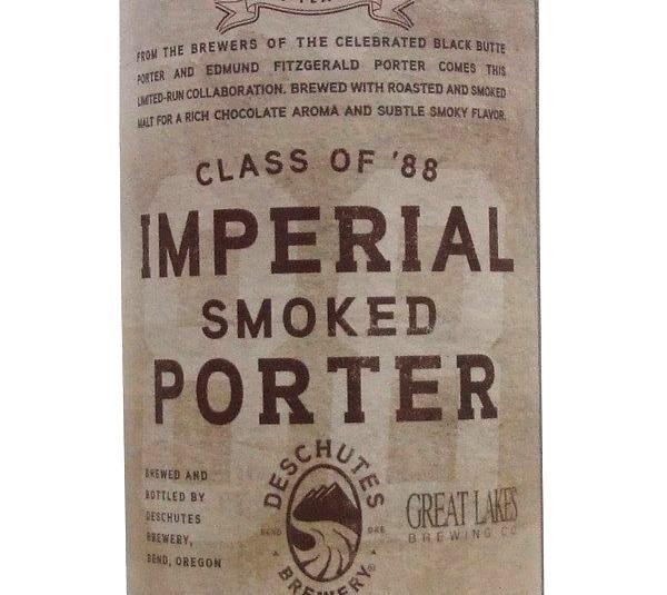 Deschutes Class of '88 Imperial Smoked Porter 650ml Beer in New Zealand - http://www.americanbeer.co.nz/beer-from-usa-in-nz/deschutes-class-of-88-imperial-smoked-porter-650ml-beer-in-new-zealand/ #american #usa #beer #nzbeer #NewZealand