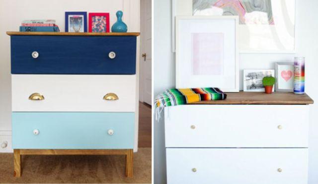 17 meilleures id es propos de peindre des meubles en pin for Peut on peindre un meuble vernis
