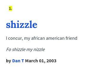 I concur, my african american friend