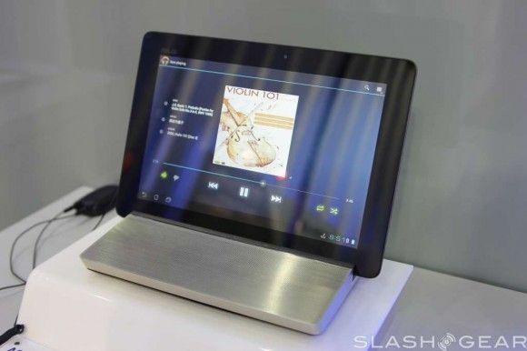 Computex : un dock audio pour les tablette Asus Transformer !