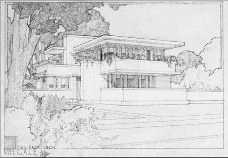 75 best Frank Lloyd Wright drawings images on Pinterest