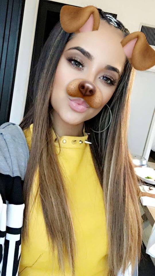 + Becky a través de Snapchat.