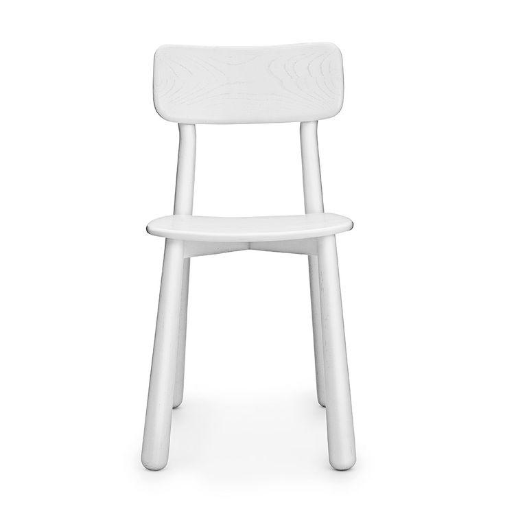 Bop Chair, White - Jordi Pla - Normann Copenhagen - RoyalDesign.com
