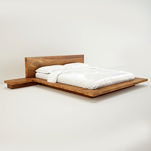 Amaani Furniture's Solid Wood Queen Size Bed (Natural Wood) - Where Can I Buy The Best Furniture
