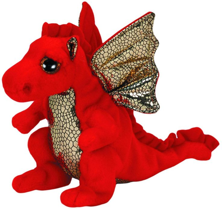 Legend the Red Dragon - Ty Beanie Babies