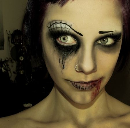 198 Best Face Painting - Halloween Images On Pinterest | Artistic Make Up Face Paintings And ...