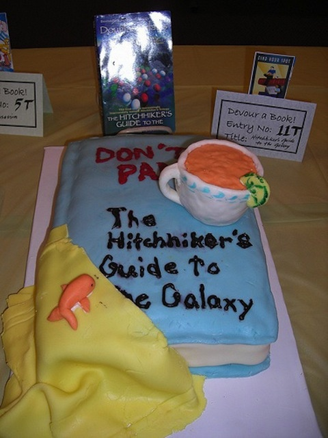 a literary analysis of the hitch hikers guide to the galaxy The hitchhiker's guide to the galaxy (sometimes referred to as hg2g, hhgttg or h2g2) is a comedy science fiction series created by douglas adams.