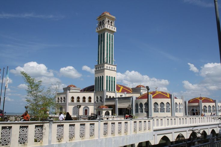 FLOATING MOSQUE - PENANG MALAYSIA