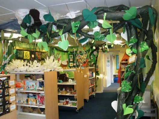 Fairy Tale Theme Decorations | SurLaLune Fairy Tales Blog: Fairy Tales in the Classroom: The ...