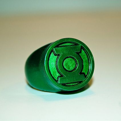 Green lantern ring.. I'm want one of these
