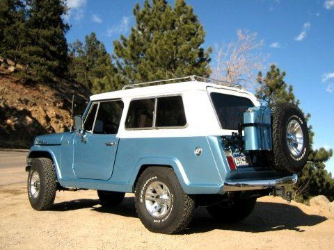 1967 Jeep Jeepster Commando. My buddy had a 1970 verison in this color.