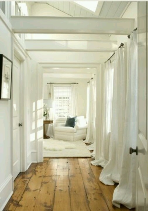 White with wood