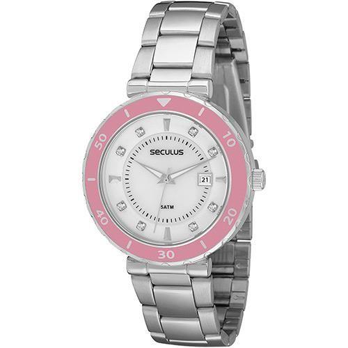 Sou Barato Relógio Feminino Seculus Analógico Social 28186L0SPNS1 DE R$ 219,90 POR R$ 59,90