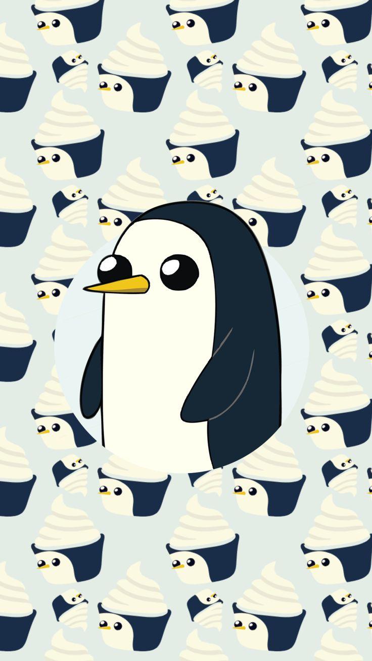 Cute Gunter wallpaper from Adventure Time | Tumblr Papel de parede fofo do Gunter de Hora de Aventura | Tumblr