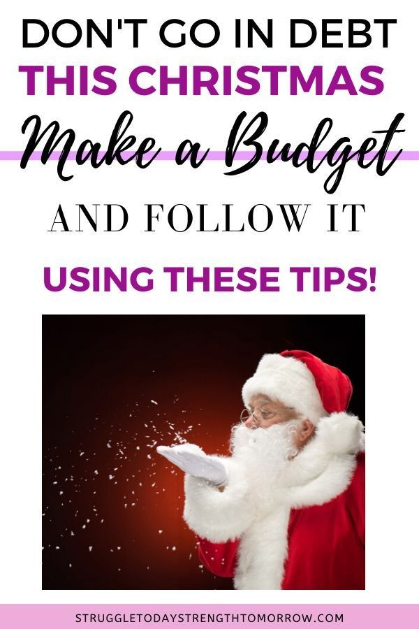 How In Debt Are People This Christmas 2020 How to Make and Actually Stay on Budget During the Holidays