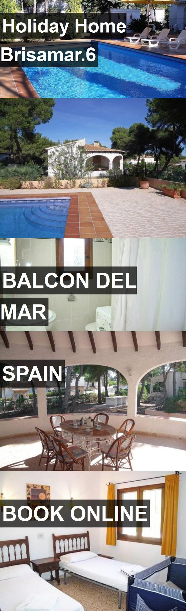 Hotel Holiday Home Brisamar.6 in Balcon del Mar, Spain. For more information, photos, reviews and best prices please follow the link. #Spain #BalcondelMar #travel #vacation #hotel