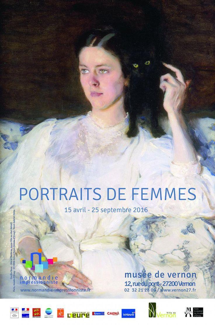 Pour cette troisième édition du festival Normandie Impressionniste, qui met à l'honneur le portrait, le musée de Vernon présente l'exposition Portraits.