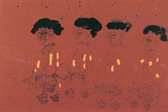 Dwight Mackintosh Four Men, 1984 - Petullo Art Collection