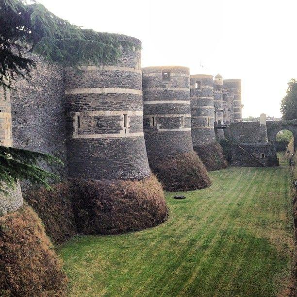 Château d'Angers à Angers, Pays de la Loire