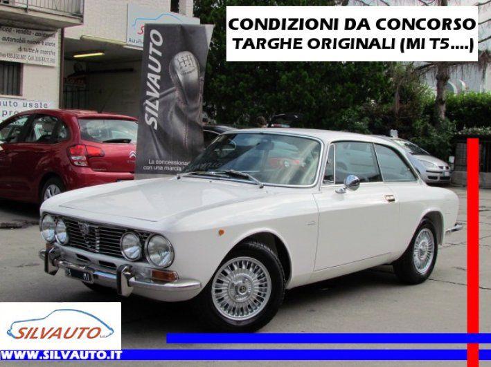 """1972 Alfa Romeo, GT (66-72)  BOOK FOTOGRAFICO COMPLETO DI 60 FOTOGRAFIE SUL SITO: SILVAUTO.IT / SILVAUTOCLASSICS.COMCerchi in lega Alfa Romeo campagnolo millerighe, Interni in Tex Alfa Nero, Volante a calice in legno """"HELLEBORE"""" originale Alfa Romeo perfetto.VETTURA D' EPOCA IN CONDIZIONI DA CONCORSOSICURA RIVALUTAZIONE A LIVELLO COLLEZIONISTICOTARGHE ORIGINALI (MIT5....), CHIAVI, LIBRETTO USO E MANU ..  http://www.collectioncar.com/detailed.php?ad=63684&category_id=1"""