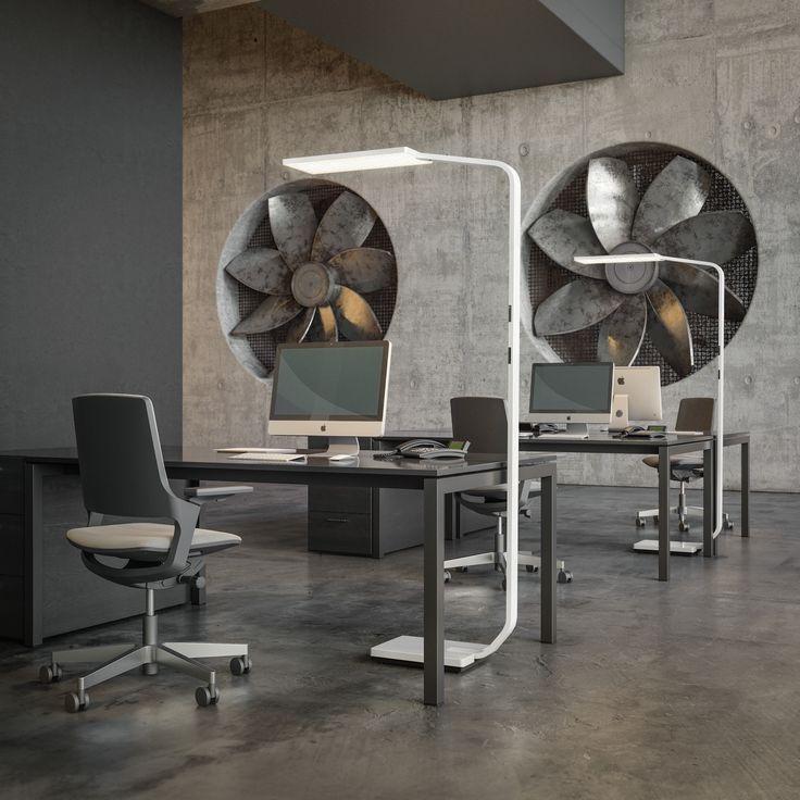 Светильник Force one наполнит светом ваш офис и подчеркнет современный интерьер. Дизайн лампы разработан компанией Nimbus, сверхфункциональные LED лампы, VAN VUGHT Interiors ваш дизайнер интерьеров в Берлине