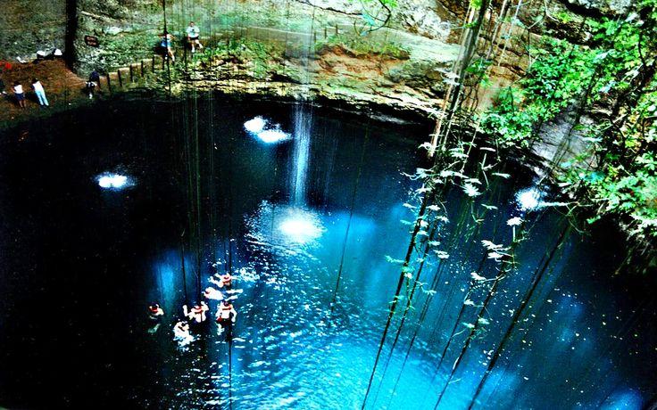 Ik Kil cenote Mexico Travel 2017
