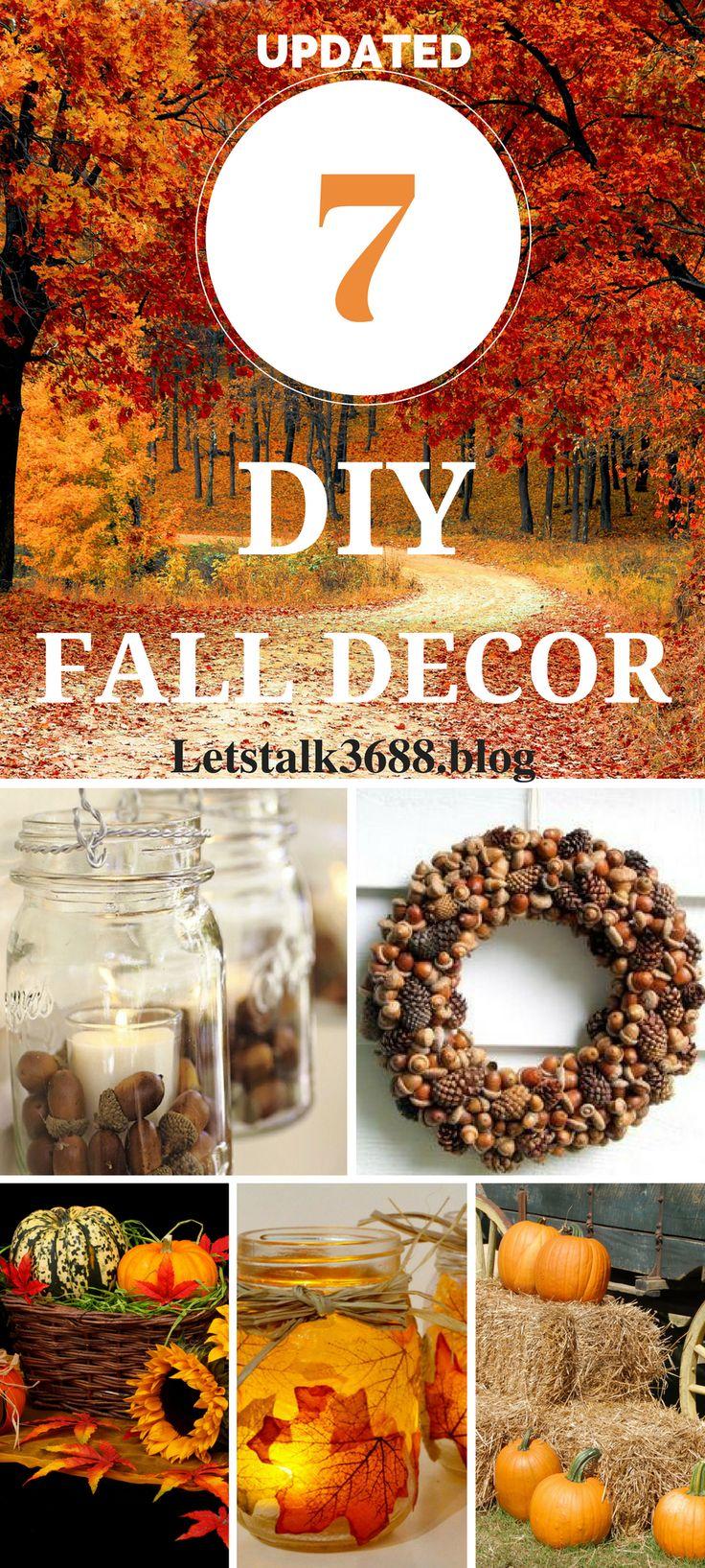 DIY fall decor ideas for the porch. Fall decor ideas for homes. Dollar tree fall decor ideas.