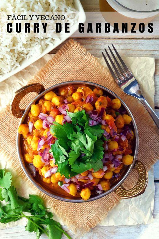 ¿Y cómo aprovechar de los garbanzos durante el año de las legumbres? ¡Haz curry! Esta receta es una versión de la típica chana masala india pero con especias disponibles en supermercados. ¡Lo mejor de todo es que está listo en 30 minutos!