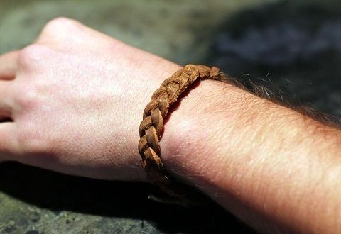 Unisex Braided Leather Bracelet Diy ∙ How To by schpeglar on Cut Out + Keep