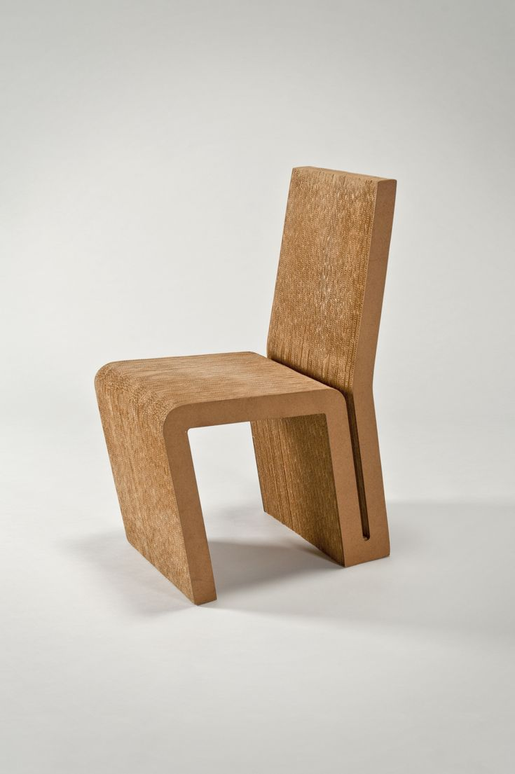 Comfortable cardboard chair designs - Side Chair By Frank Gehry Vitra