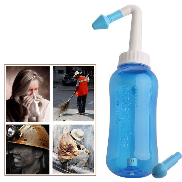 Neue Nase Waschen System Sinus & Allergien Relief Nasen Druck Spülen Neti topf