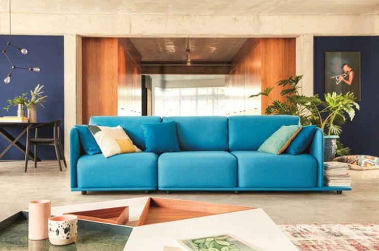 Jedna sofa, a tak wiele możliwości. Jest to możliwie z modułową sofą Molis Conmoto.