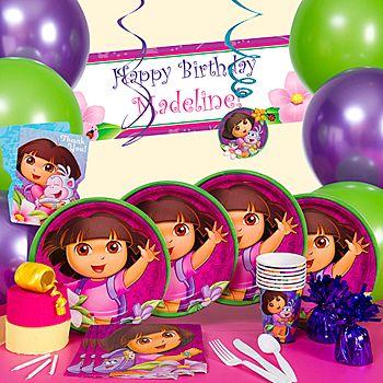 Dora the Explorer Birthday party theme.