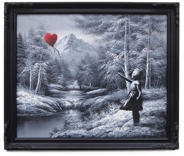 New Indoor Works from Banksy