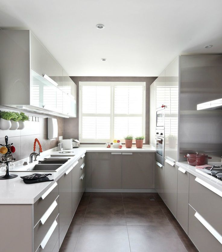 small u shaped kitchen designs