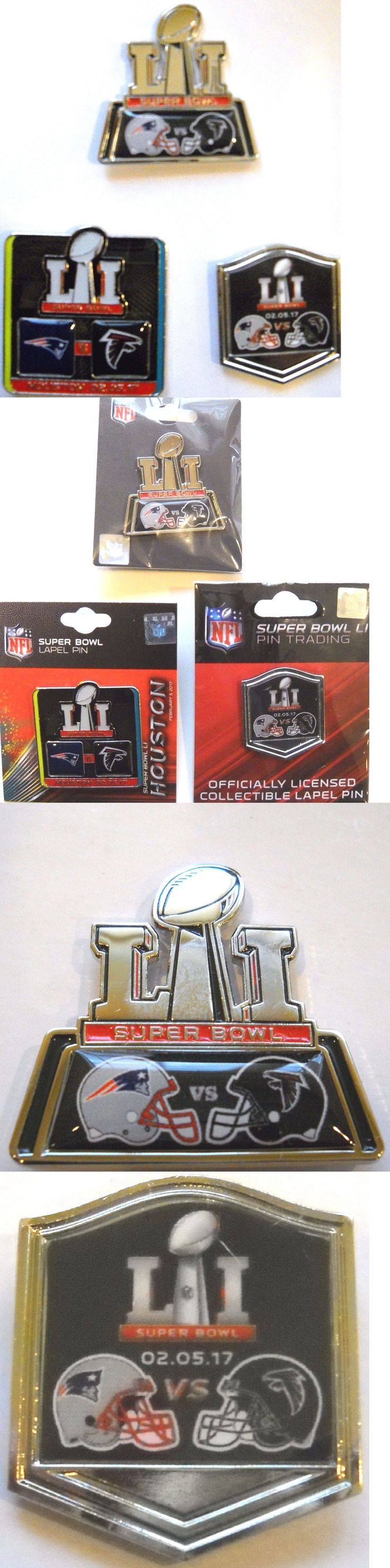 Pins 50130: 1 Set Of 3 Atlanta Falcons And New England Patriots Two-Team Super Bowl Li Pins -> BUY IT NOW ONLY: $44.99 on eBay!