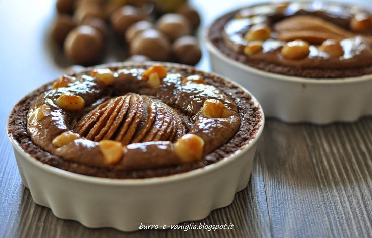 Burro e Vaniglia: Chocolate Pear Tart