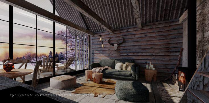 Bohemian Hut by Lucie Kratochvilova Architecture Design