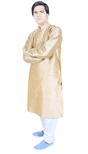 Mens Dress Clothes Kurta Pajama For Wedding Handmade Ethnic Kurta Beige Size M RoyaltyLane http://www.amazon.co.uk/dp/B0146GDCVC/ref=cm_sw_r_pi_dp_jUJQwb12TFEJ4