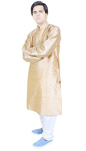 Mens Dress Clothes Kurta Pajama For Wedding Handmade Ethnic Kurta Beige Size M RoyaltyLane http://www.amazon.co.uk/dp/B0146GDCVC/ref=cm_sw_r_pi_dp_jUJQwb12TFEJ4